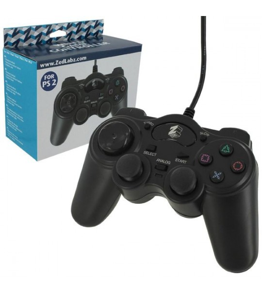 Ps2 Zedlabz Wired Controller With Turbo Function