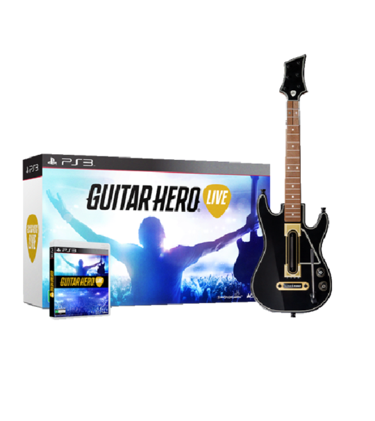 Ps3 Guitar Hero Live Guitar bundle