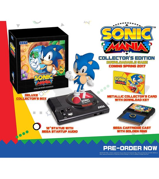 NINTENDO SWITCH SONIC MANIA COLLECTOR'S EDITION