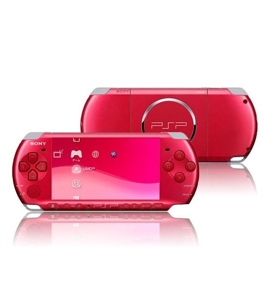 Sony Psp 3006 Slim & Lite - Radiant Red Full Offer Bundle