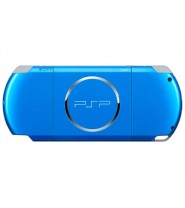 Sony Psp 3006 Slim & lite -Vibrant Blue Full Offer Bundle