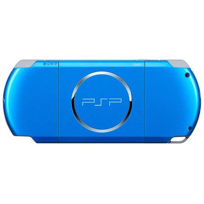 Sony Psp 3006 Slim & lite -Vibrant Blue Full Offer Bundle