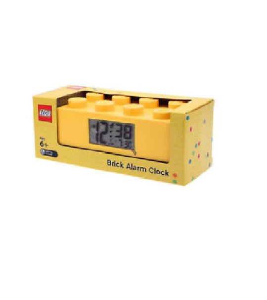 Lego Friend Brick Alarm Clock Yellow Brick Original (9002144)
