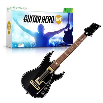 Xbox360 Guitar Hero Live Guitar bundle