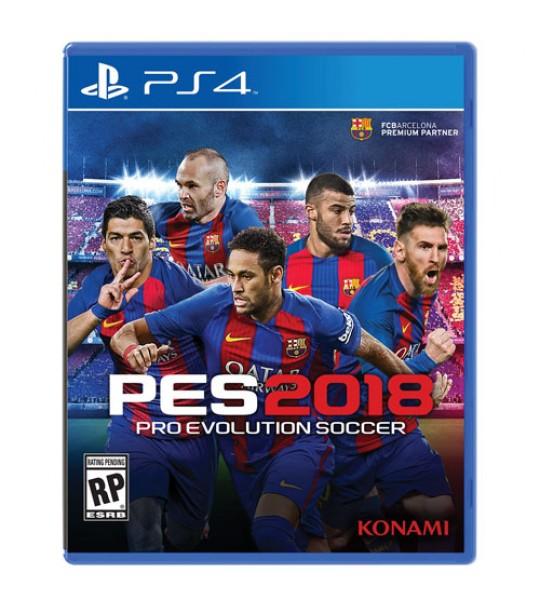 Ps4 Pes 2018 Pro Evolution Soccer Standard Edition -R2
