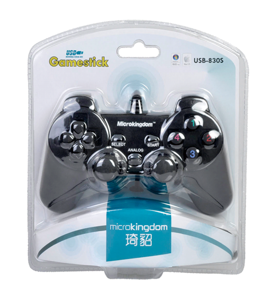 PC MicroKingdom 830S Dual Shock Controller