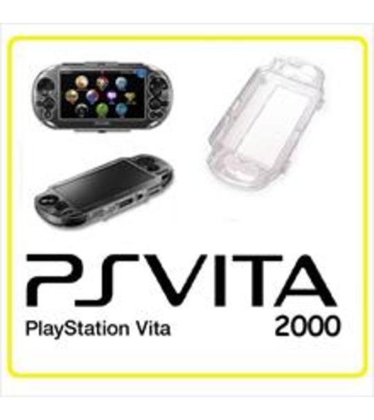 Sony Ps Vita 2000 Clear Crystal Case