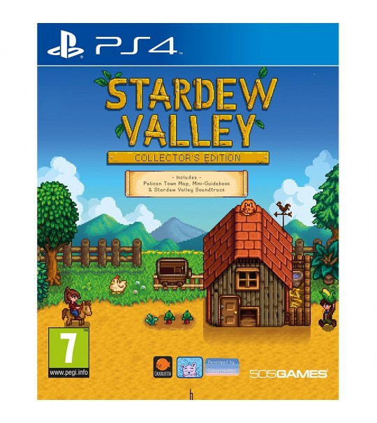 Ps4 stardew valley collector 39 s edition r1 all for How to fish in stardew valley ps4
