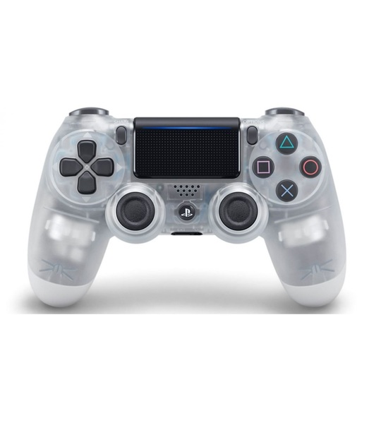 Ps4 Dual Shock 4 Wireless Controller Crystal White 2.0