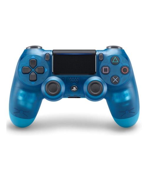 Ps4 Dual Shock 4 Wireless Controller Crystal Blue 2.0
