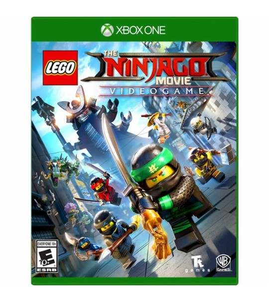 XBox One LEGO Ninjago Movie With Official Water Bottle