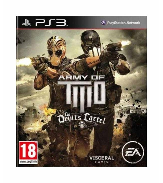 PS3 Army Of Two : Devil's Cartel R1/ALL