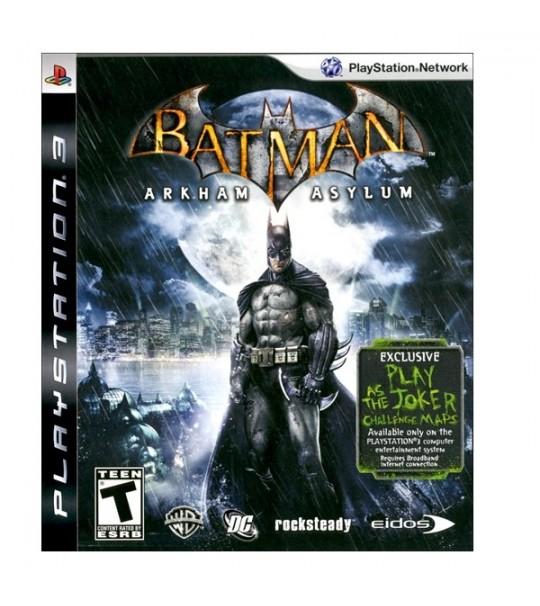PS3 BATMAN ARKHAM ASYLUM - R1/ALL
