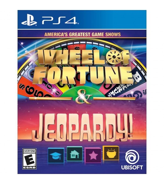 PS4 AMERICAS GREATEST GAMESHOWS 2IN1-ALL(WHEEL OF FORTUNE + JEOPARDY!)