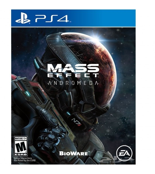 PS4 MASS EFFECT ANDROMEDA ALL