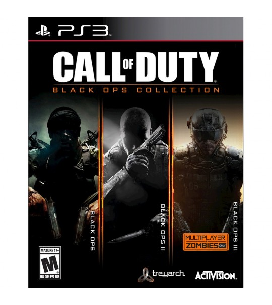 PS3 CALL OF DUTY BLACK OPS COLLECTION R1/ALL
