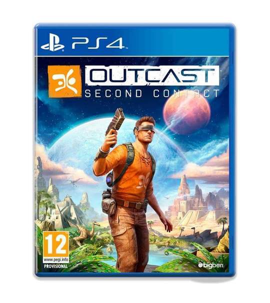 PS4 OUTCAST SECOND CONTACT - R1/ALL