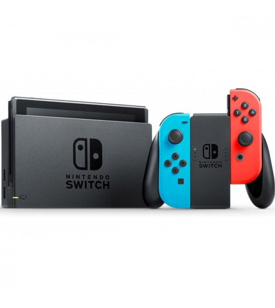 NINTENDO SWITCH CONSOLE (RED/BLUE) JAPAN SET FREE ZELDA SKIN