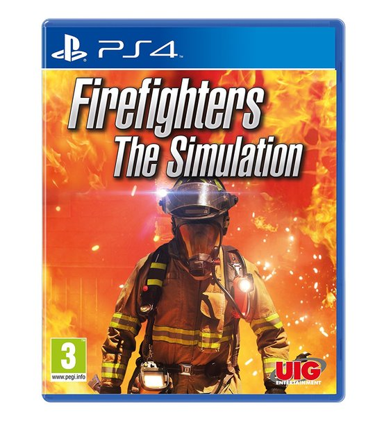 PS4 FIREFIGHTERS THE SIMULATION R2