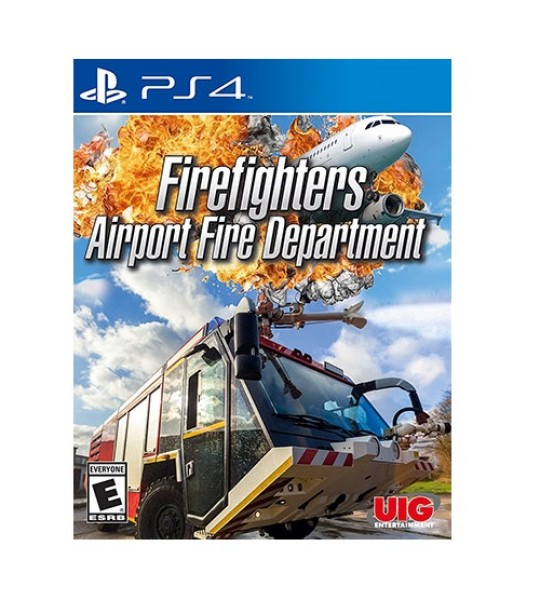PS4 AIRPORT FIRE DEPARTMENT FIREFIGHTERS R2