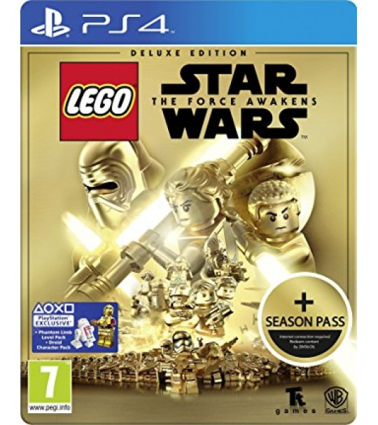 PS4 LEGO STAR WARS:THE FORCE AWAKENS DELUXE EDITION - R1/ALL