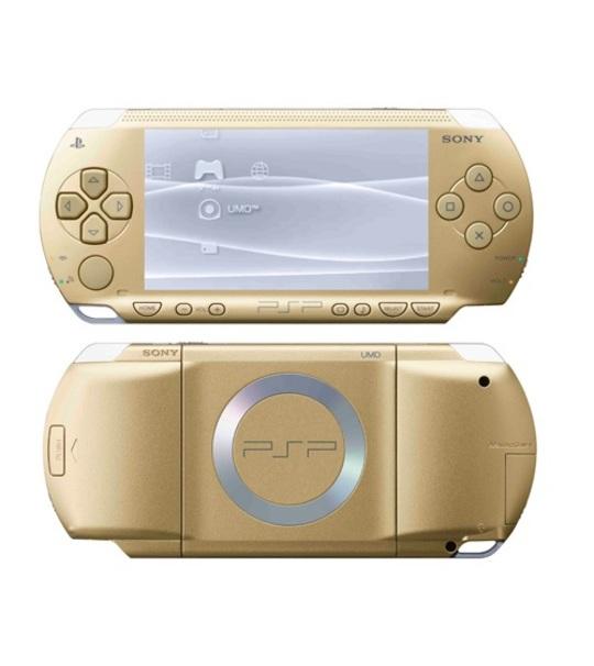 Sony Psp 1000 Gold Full Offer Bundle