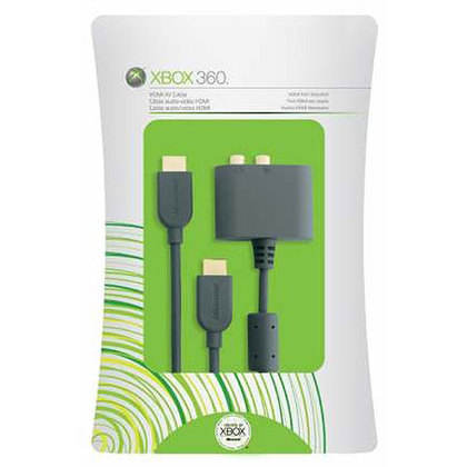 Xb360 Hdmi Cable + Av Adaptor