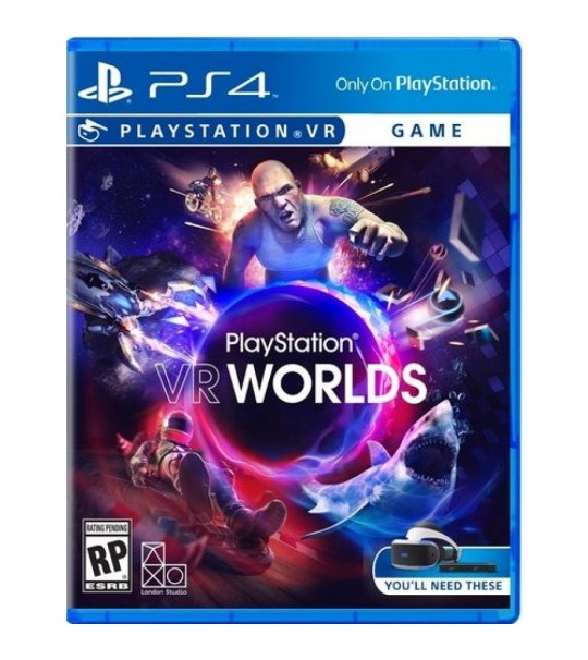 PS4 PLAYSTATION VR WORLDS - R2