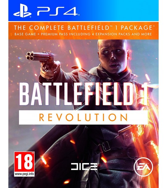 PS4 BATTLEFIELD 1 REVOLUTION EDITION - R2