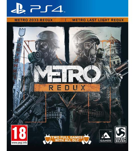 PS4 METRO REDUX - ALL