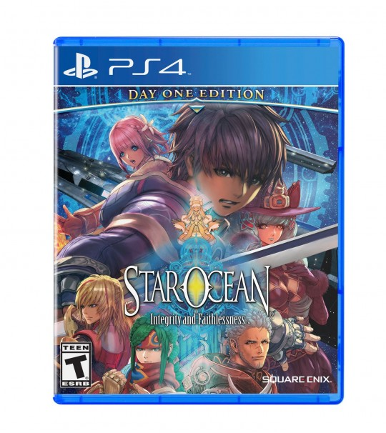 PS4 STAR OCEAN : INTEGRITY AND FAITHLESSNESS - ALL