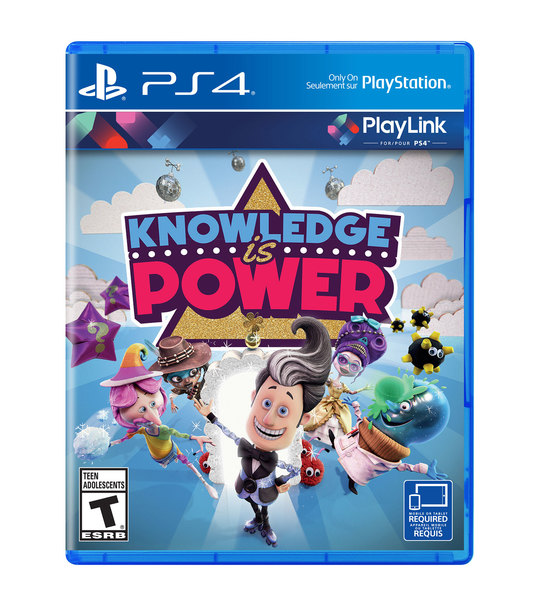PS4 KNOWLEDGE IS POWER - R2