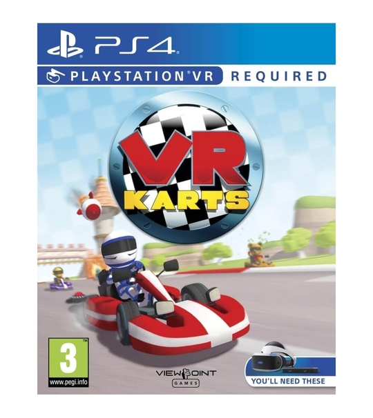 PS4 VR KARTS - ALL