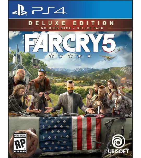 Ps4 Far Cry 5 Deluxe Edition - R3