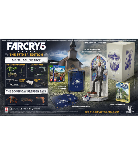 XBox one Far Cry 5 The Father Edition