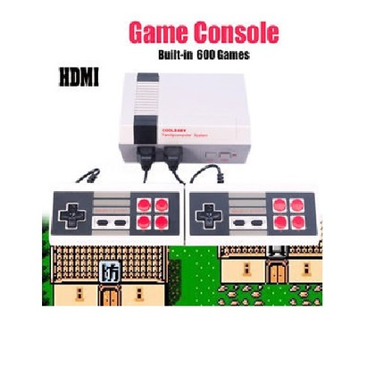 HDMI Mini TV Console Anniversary Edition Entertainment System BUILT-IN 600 Classic HD Game