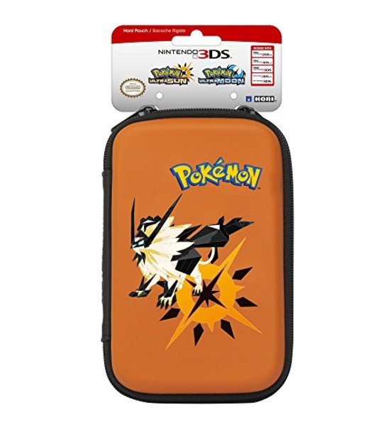 NINTENDO OFFICIALLY NEW 2DS/3DS XL HORI POKEMON ULTRA SUN AND MOON HARD POUCH