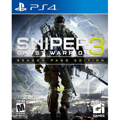 PS4 SNIPER GHOST WARRIOR 3 SEASON PASS EDITION R1/ALL