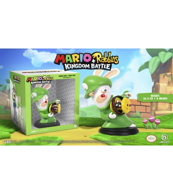 Mario + Rabbids Kingdom Battle - Figure - Rabbid Luigi (No Game Included)