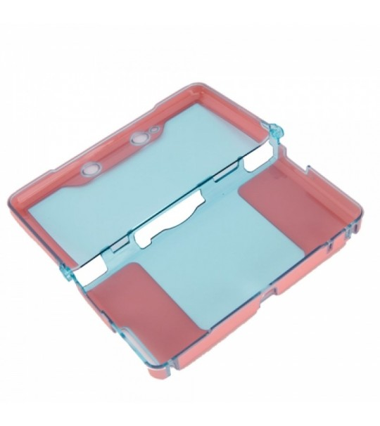 3DS Crystal Case - (Red Color)