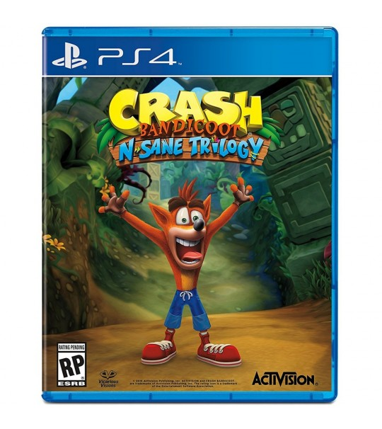 Ps4 Crash Bandicoot N Same Trilogy R3