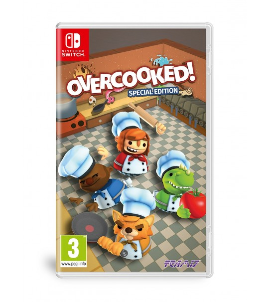 SWITCH OVERCOOKED SPECIAL EDITION