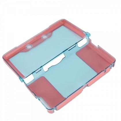 3DS Crystal Case - (Orange Color)