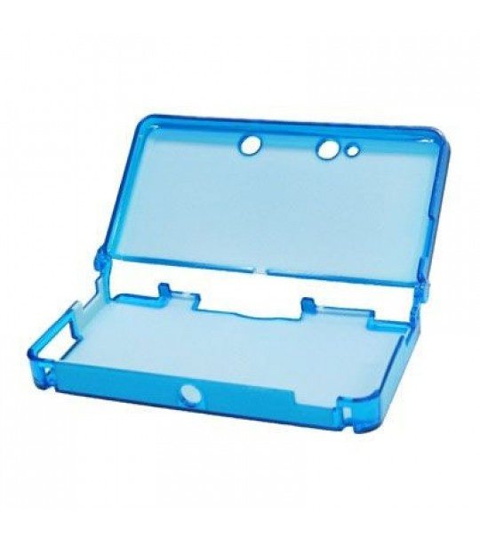 3DS Crystal Case - (Blue Color)