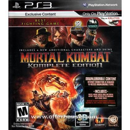 PS3 Mortal Kombat Komplete Edition-R1/ALL