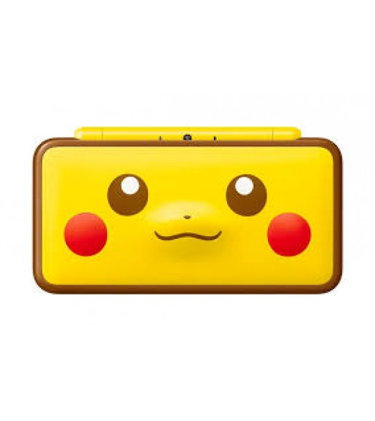 NEW 2DS XL PIKACHU EDITION ASIA FREE TWO RANDOM 3DS GAMES