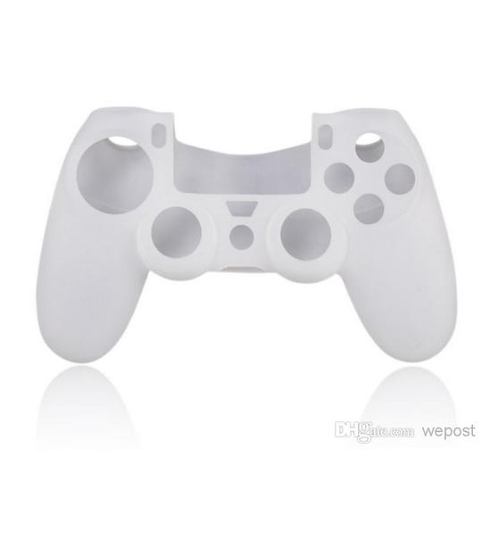 PS4 DUAL SHOCK 4 CONTROLLER SILICON WHITE COLOR