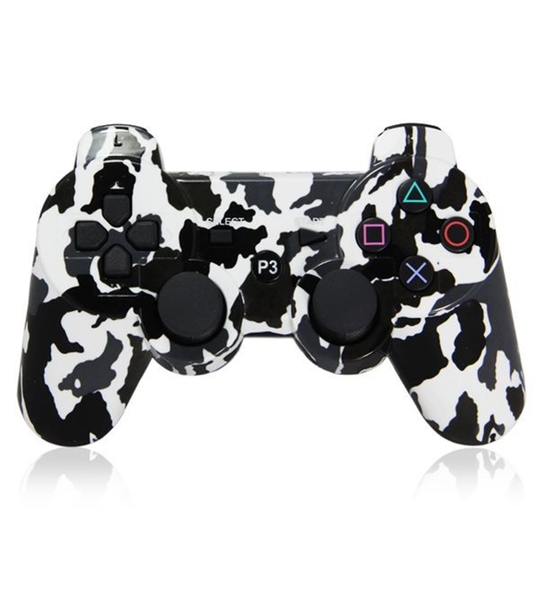 Ps3 Dual Shock 3 Controller Army Black Camouflage -OEM