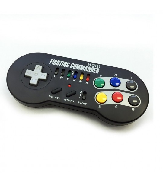 HORI FIGHTING COMMANDER WIRELESS SNES CLASSIC CONTROLLER