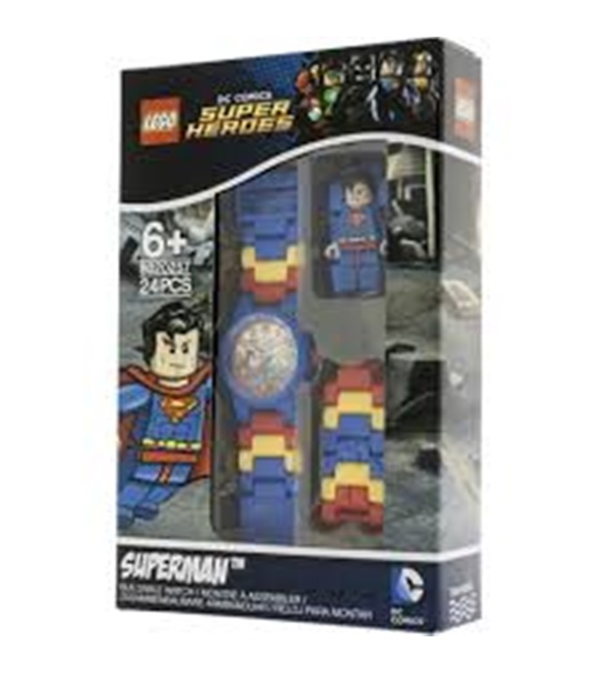 LEGO KIDS MINI FIGURE WATCH SUPERMAN (8020257)